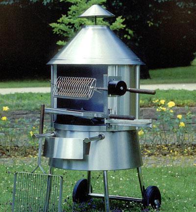 Luchinger sa grils barbecues planchas en acier inoxydable for Landi meubles de jardin
